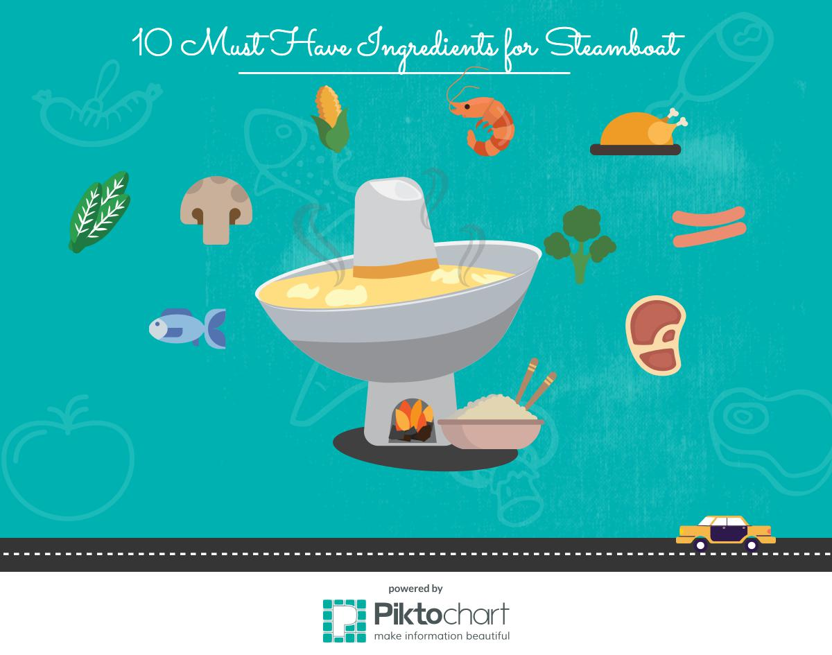 10 Must Have Ingredients For Steamboat