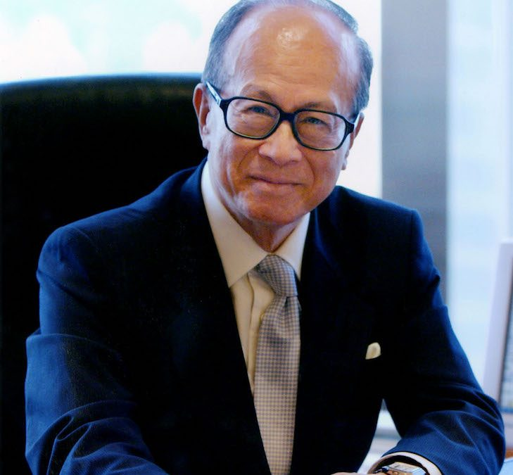 Learn How You Can Build A Successful Business Empire:  Li Ka-Shing Shares His Wisdom