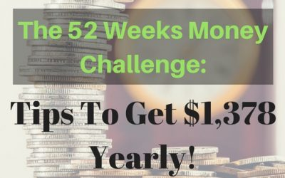 The 52 Weeks Savings Challenge: Tips to Get $1,378 Yearly!