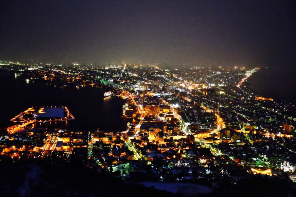 Hakodate night