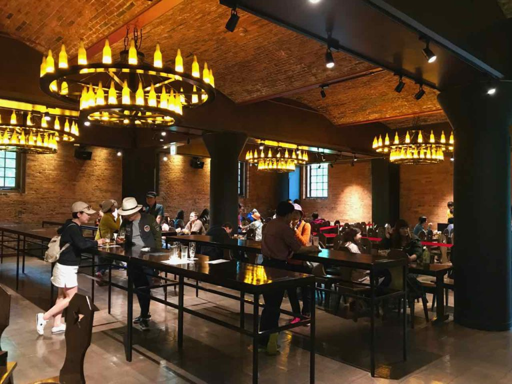 Sapporo beer tasting hall