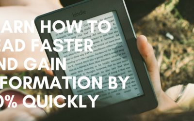 How to read faster and gain information by 40% quickly!